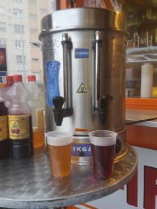 A finom házi szörpök és a forró tea mellett már FORRALT BOR is kapható!